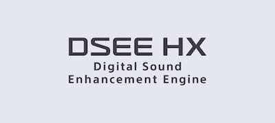 Mejora la música digital con DSEE HX