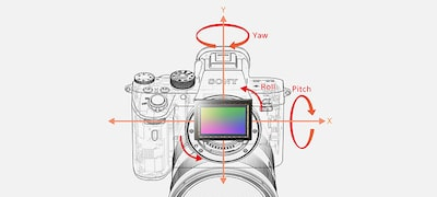 In-body 5-axis image stabilisation with up to 5.5-stop shutter speed advantage