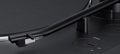 New tone arm for superior sound