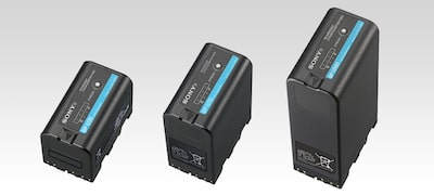 A choice of battery types for different applications