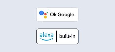 Compatible con el Asistente de Google y Alexa