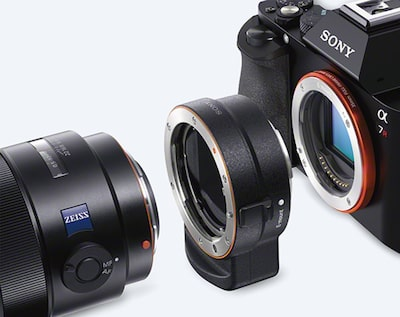 A-mount adapter