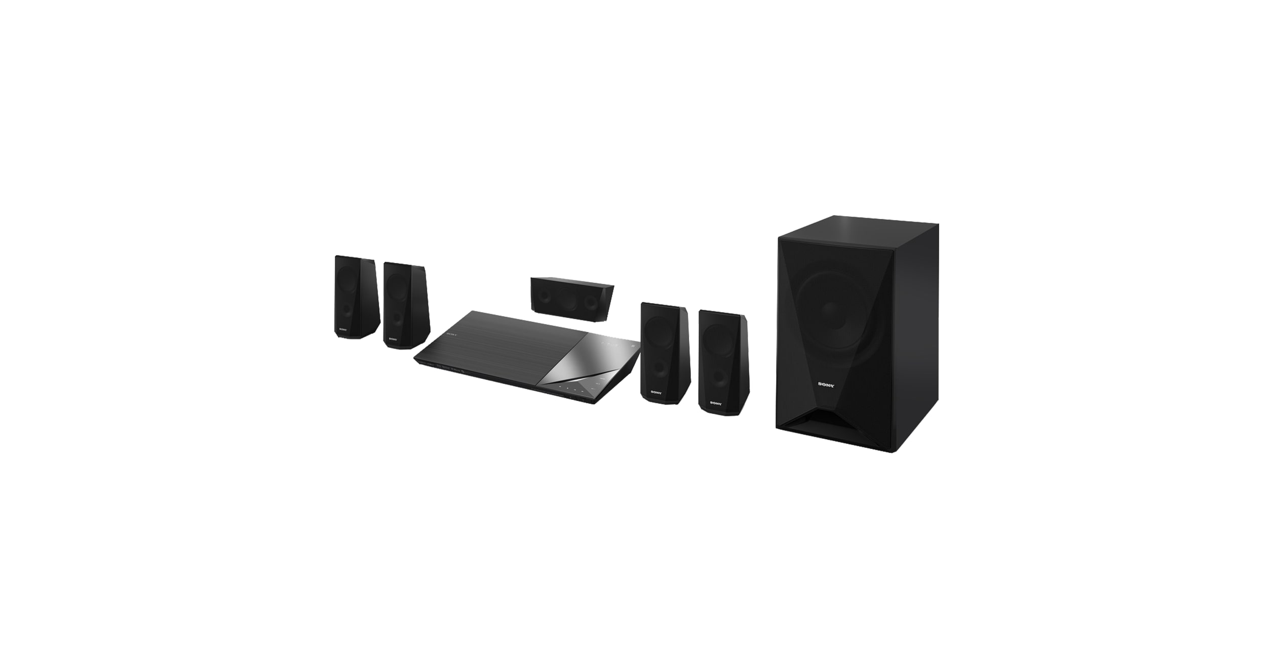 blu ray home cinema system with bluetooth bdv n5200w. Black Bedroom Furniture Sets. Home Design Ideas