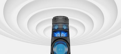 Bigger sound with Omnidirectional Party Sound for the best parties ever