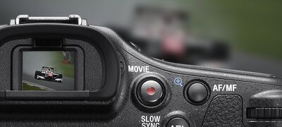 8fps live-view continuous shooting