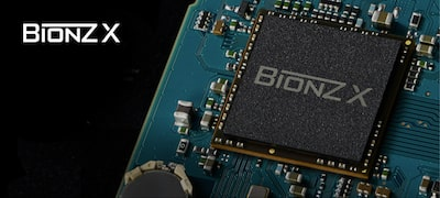 BIONZ X™ image processing engine upgraded