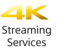 4K Streaming Services Logo