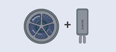 Υβριδικό σύστημα οδήγησης HD για ήχο πλήρους φάσματος