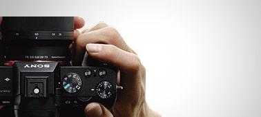 Enhanced grip and shutter button