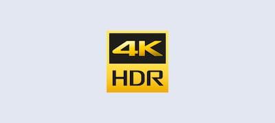 Descubre las nuevas profundidades del realismo gracias al alto rango dinámico 4K