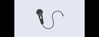 Karaoke microphone icon