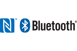 NFC i Bluetooth® logotipi