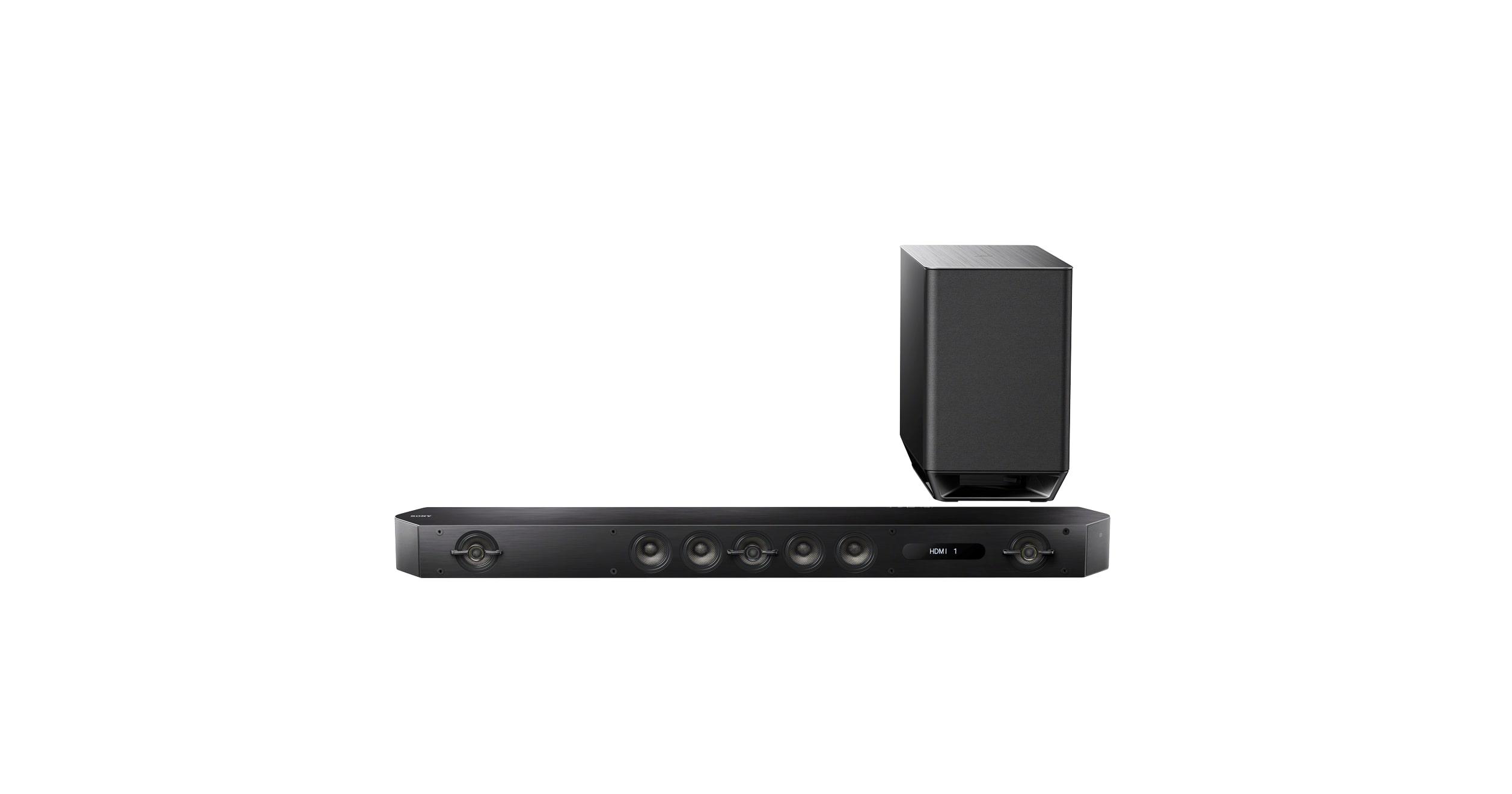 Bluetooth Sound Bar with HDMI & 7.1 ch Surround Sound | HT-ST9 | Sony US