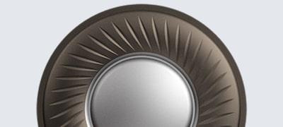 Titanium-coated diaphragm domes for superior clarity