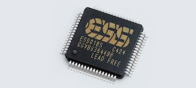 ESS digital-to-analogue converter for high performance