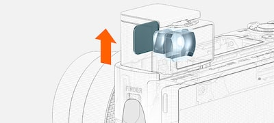 One-push Access EVF