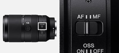 Fast auto/manual focus switching