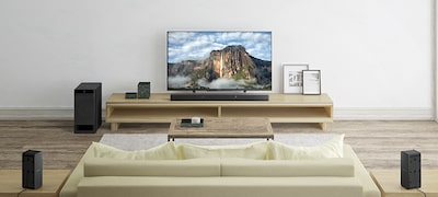 5.1 channel real surround sound brings movies to life