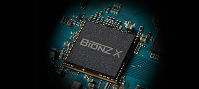 BIONZ X™ for faster image processing