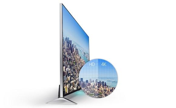 tvs led 140 cm 55 pouces t l viseurs bravia sony fr. Black Bedroom Furniture Sets. Home Design Ideas