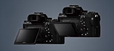 Màn hình LCD có thể xoay thuận tiện