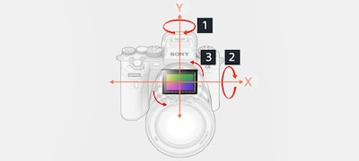 5-axis optical in-body image stabilization for a 5.5-step shutter speed advantage