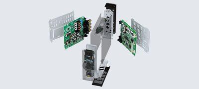 Dual amplifiers