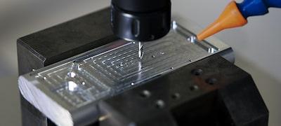 Aluminium milled frame