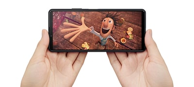Sony's TV know-how in a beautiful smartphone display