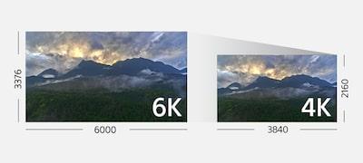 Crearea filmelor de înaltă rezoluţie 4K fidele realității