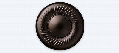 Aluminium-Coated LCP diaphragm for more precision