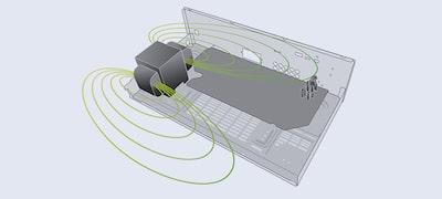 Disposición óptima de la entrada fono y el transformador