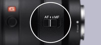 Versatile fingertip focus control