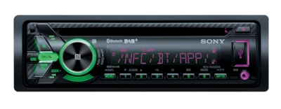 Images of DAB Radio CD Receiver with BLUETOOTH® Wireless Technology