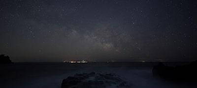 Beautifully rendered night skies