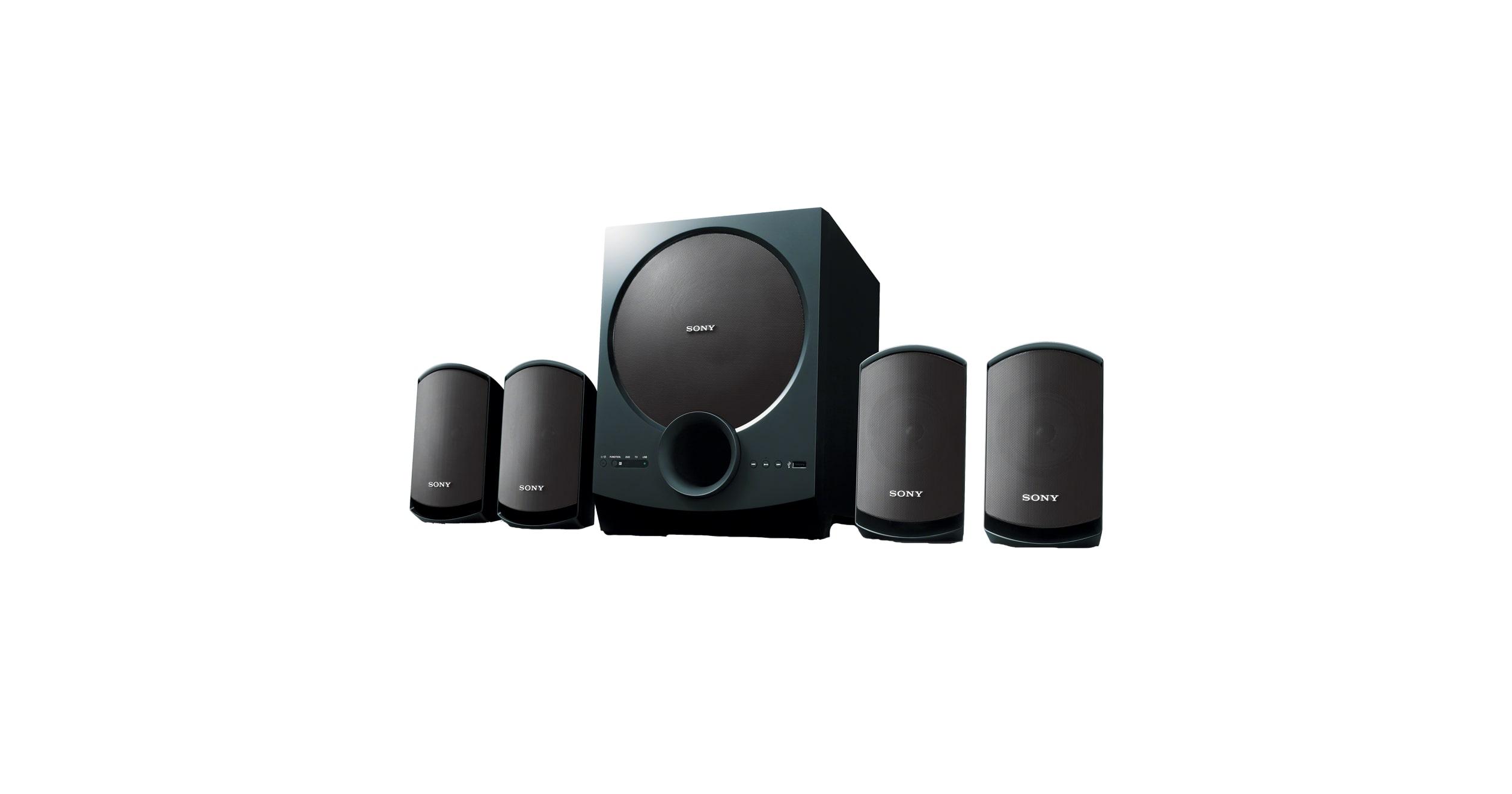 Home Theatre Satellite Speakers | USB Speakers | SA-D10 | Sony IN
