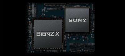 ระบบประมวลผลภาพ BIONZ X™ ความเร็วสูงและ Front-End LSI