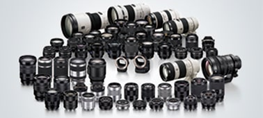 Compatibility with wide-ranging mountable lenses