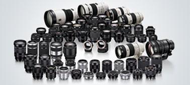 Khả năng tương thích với nhiều ống kính rời