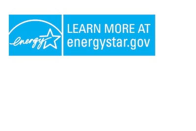 Logo mark of LEARN MORE AT energystar.gov