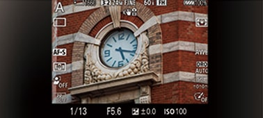 Stable viewfinder image