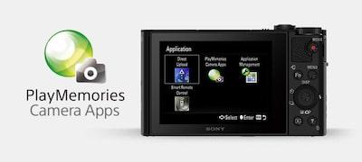 Εφαρμογές PlayMemories Camera Apps για προσαρμοσμένη λειτουργικότητα