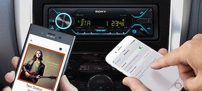 Çift Bluetooth® özelliğiyle iki akıllı telefonu bağlayın