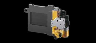 High-durability shutter tested to approx. 200,000 release cycles with low vibration