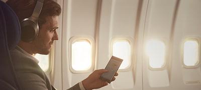 การป้องกันเสียงรบกวนสำหรับใช้บนเครื่องบิน