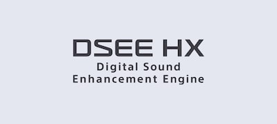 Upscale digital music with DSEE HX