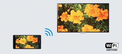 Screen mirroring to wirelessly show your smartphone screen on TV