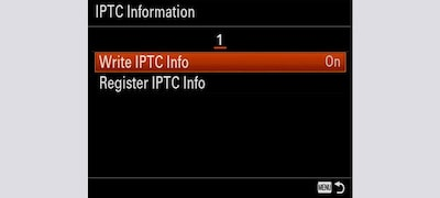 Support for IPTC information