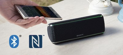 Wireless with BLUETOOTH® technology and NFC™