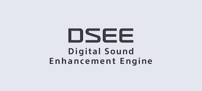 DSEE tự động khôi phục độ rõ nét cho âm nhạc số
